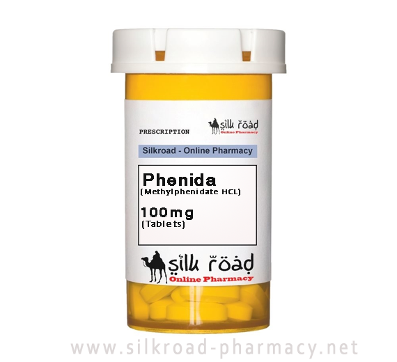 buy Phenida (Methylphenidate HCL) 100mg