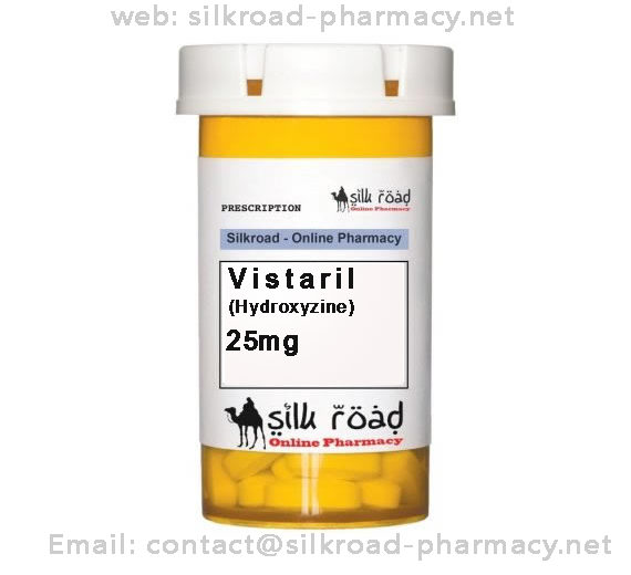 buy Vistaril (Hydroxyzine) 25mg-silkroad-pharmacy.net