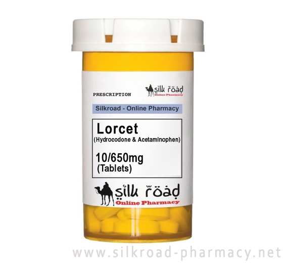 buy Lorcet (Hydrocodone & Acetaminophen) 10/650mg